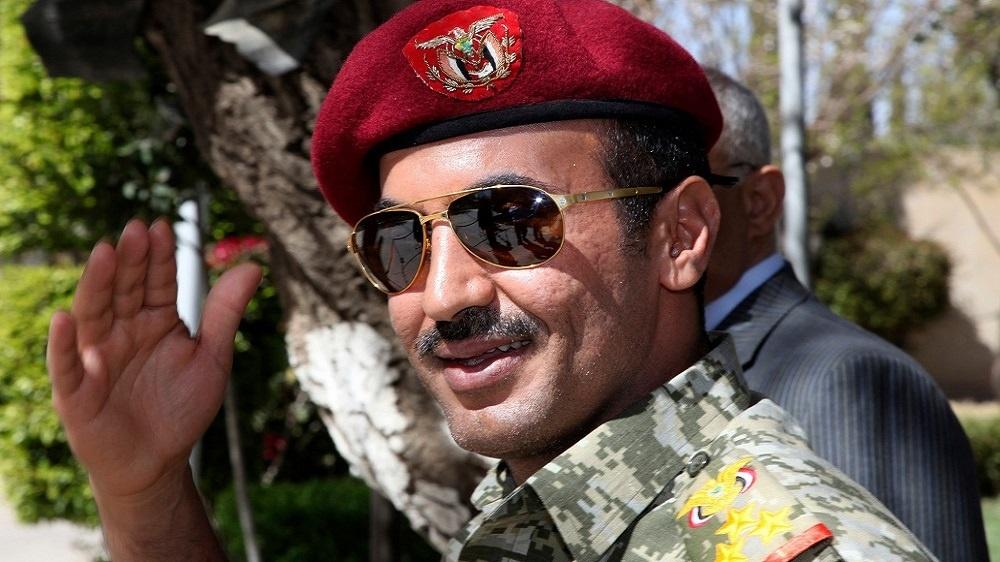 رفع العقوبات عن أحمد علي عبد الله صالح