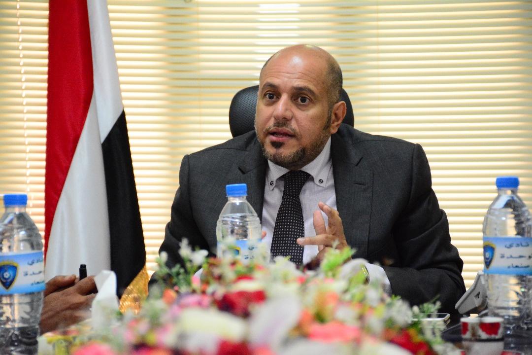 نادي وحدة صنعاء يبارك لشعب حضرموت