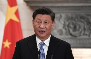 أول رد من الرئيس الصيني على