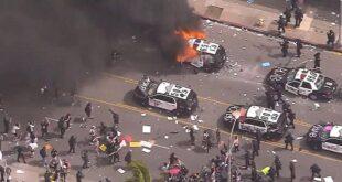 حرب شوارع ومواجهات دامية في واشنطن